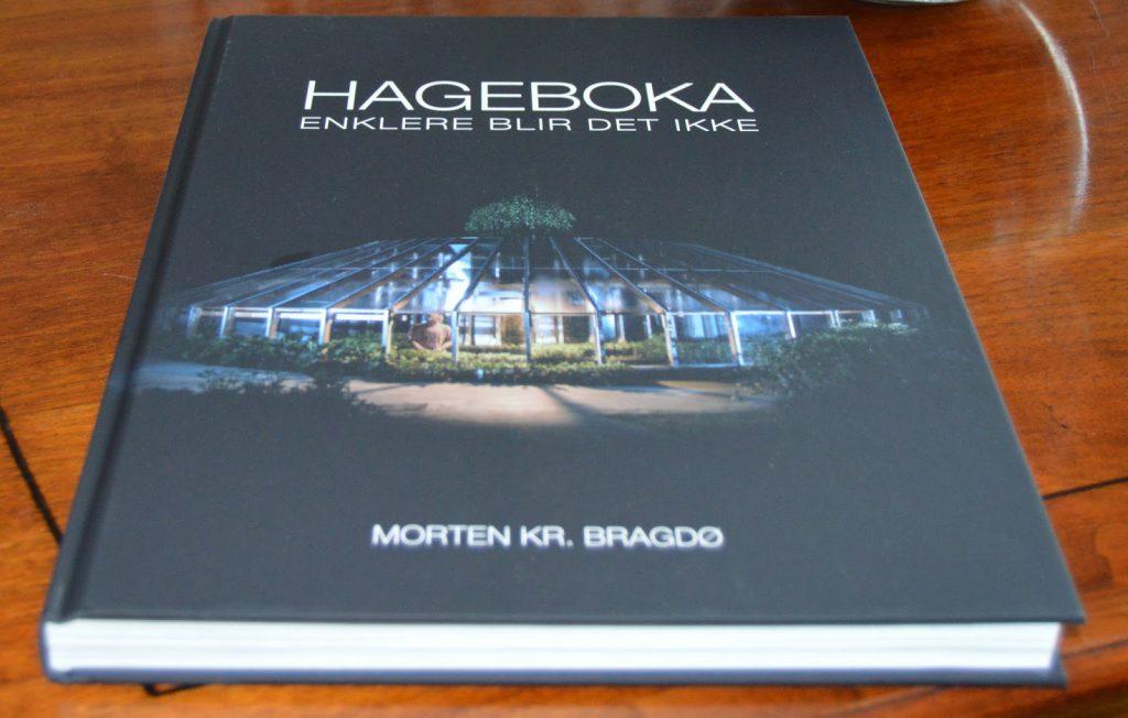 Omslaget på Hageboka av Morten Bragdø