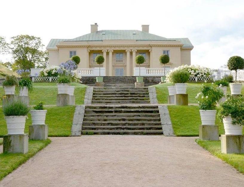 Gunnebo Slott och Trädgård, Mölndal, utenfor Gøteborg