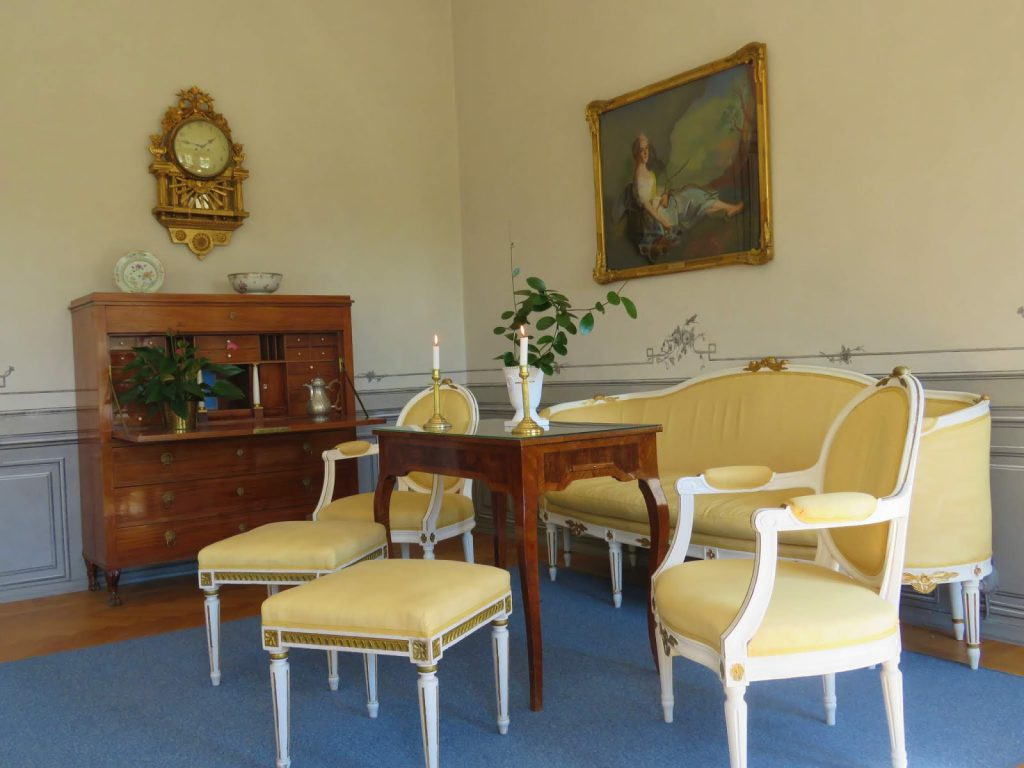 Nok en salong fra Herregården i Rosenlund, Jönköping i Småland.