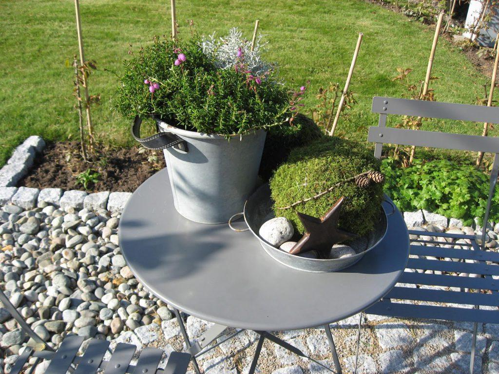 Inspirasjon til høstkrukker - del 1 Stilleben av blant annet mosekuler i Furulunden