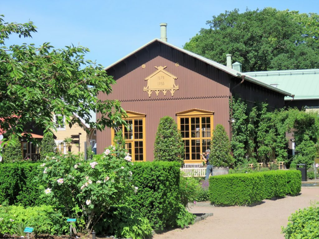 Unn deg å ta lunsjen i Trädgårdsföreningen i  Gøteborg - Lagerhuset IMG_4422