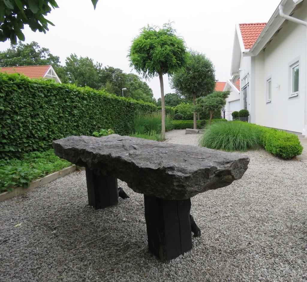 Nyt den hvite hagen - My white garden, inngangspartiet, trädgårdsrundan, Helsingborg