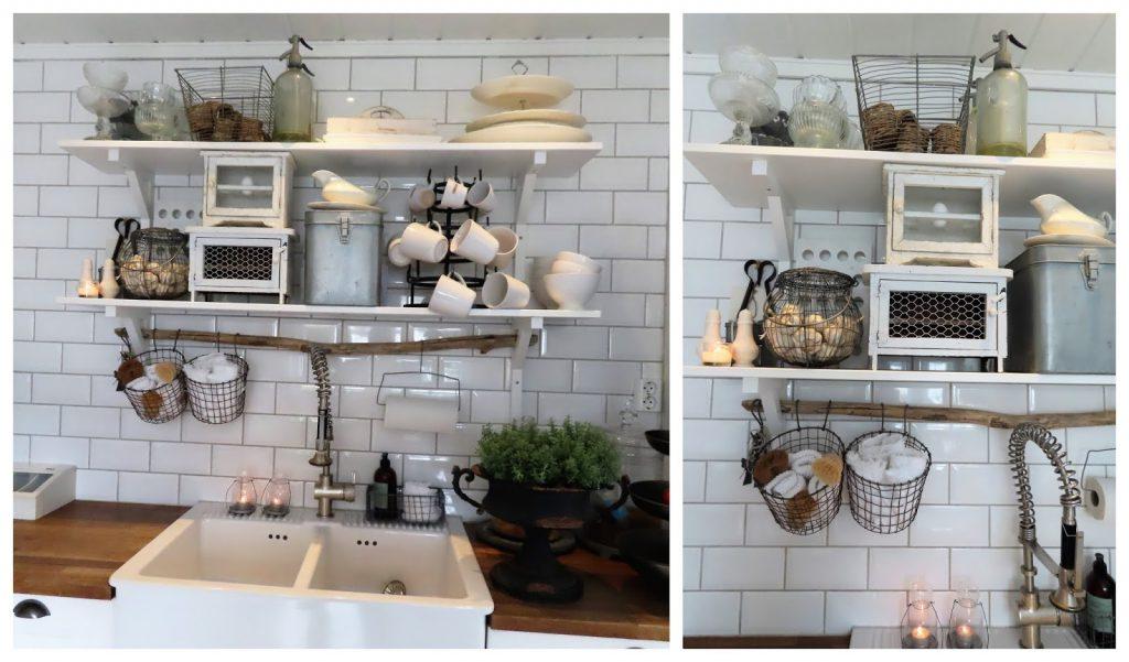 Når interiør og hage samsvarer - hjemme hos Jeanette - detaljer fra kjøkkenet