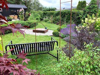 Prosjekt vannbord/fontene/dam med sildrelyd er avsluttet