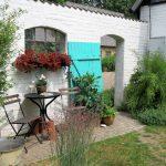 Nyt en hage fra Trädgårdsrundan i Helsingborg - Inngang minner om en sydlands hage