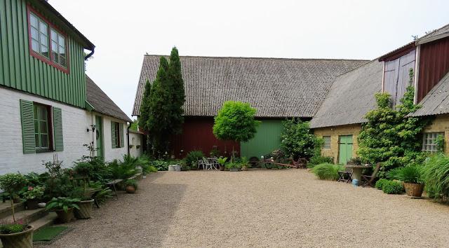 Nyt en hage fra Trädgårdsrundan i Helsingborg - Inngangspartiet