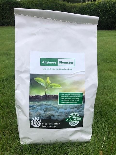 Alginure tangprodukter til blomsterbed