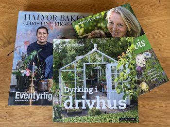 Drivhus, grønnere hverdag og interiør, vinn bokpakken!