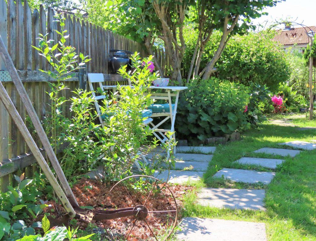 Når hagen preges av ditt kunstnersinn - Vaterland - Hagerom