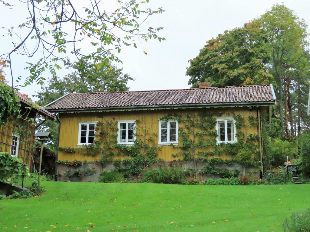 Ramme Gård, en eventyrlig virkelighet - En del av landstedsdelen på Ramme Gård