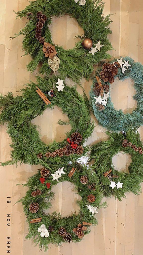 5 tips til årets fineste julekrans - her er alle 5 ferdige