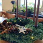 5 tips til årets fineste julekrans - kransen min er ferdig