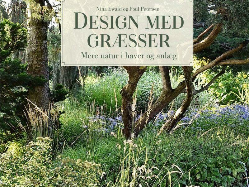 Omslaget av boken Design med græsser